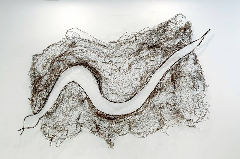 Lorraine Connelly-Northey Murray River Cloak, 2008, 300 x 200 x 50cm