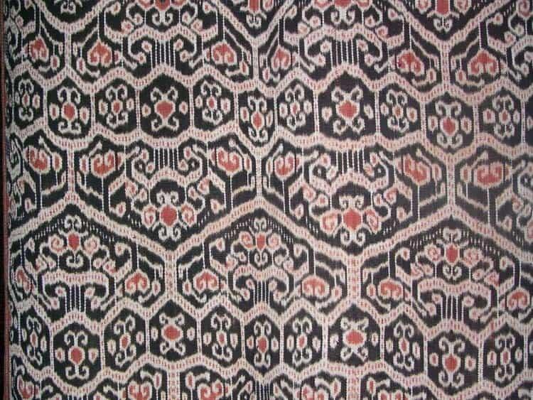 Biboki ikat textile