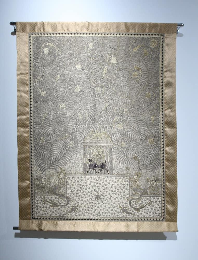 Embroidered Matani Pachadi, Asif Shaikh, Traditional, India