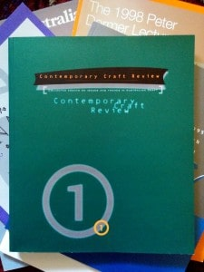 Contemporary Craft Review #1