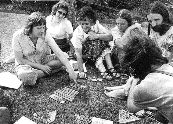 Tatachilla Summer School (late 1970s). Photograph: Grant Hancock