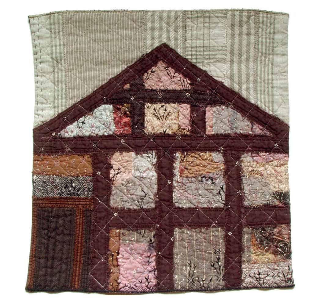 Bozena Wojtaszek - bozena_wojtaszek_old_barn_textile_art