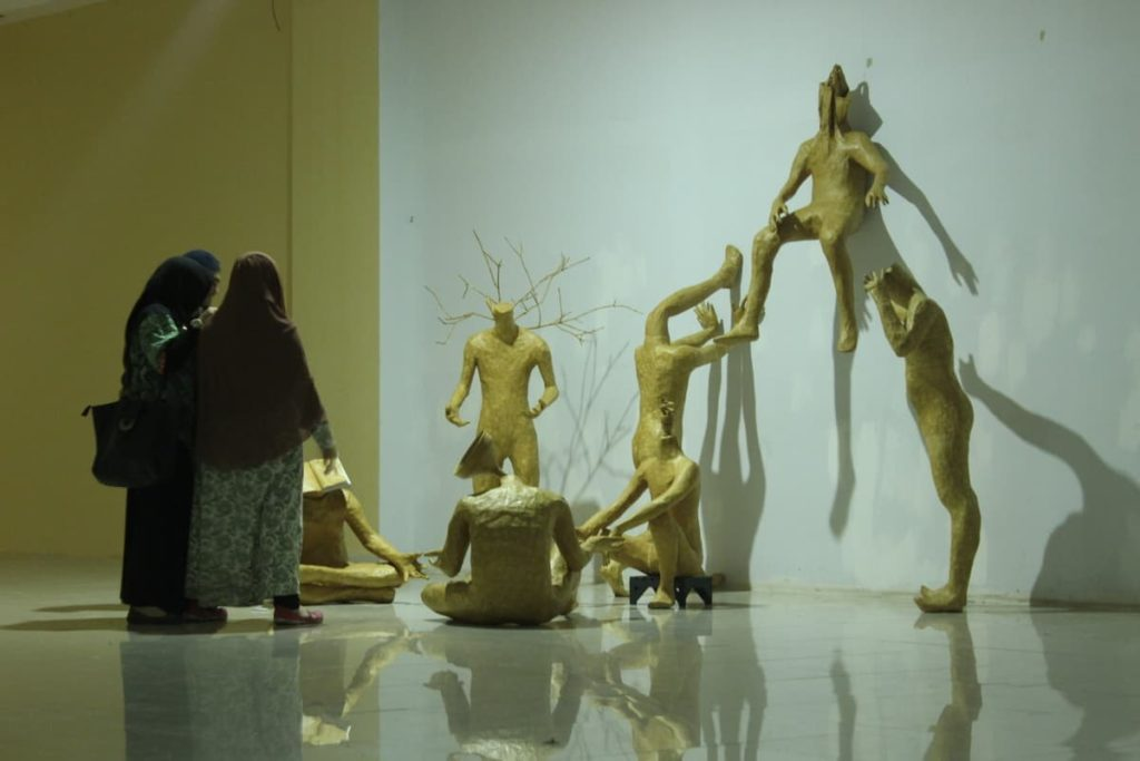 The ambience of the Makassar Biennale