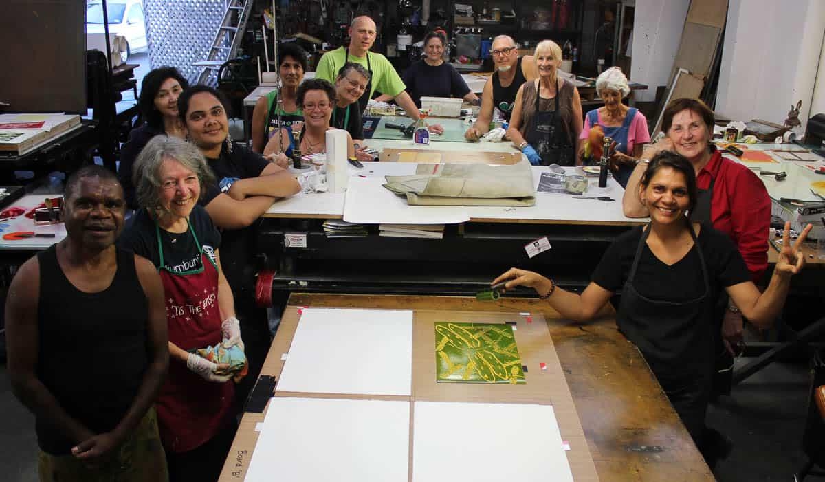 Rew Hanks Workshop group shot