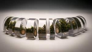 Amanda Brooks, Within Nature 1 (After), Twig, Polyester Resin, 3 x 20 x 3cm, photo: Amanda Brooks, made in Cardiff, UK