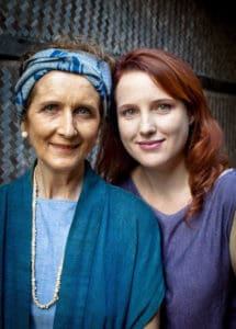 Patricia Cheesman and her daughter Lamorna, photo: Marisa Marchitelli