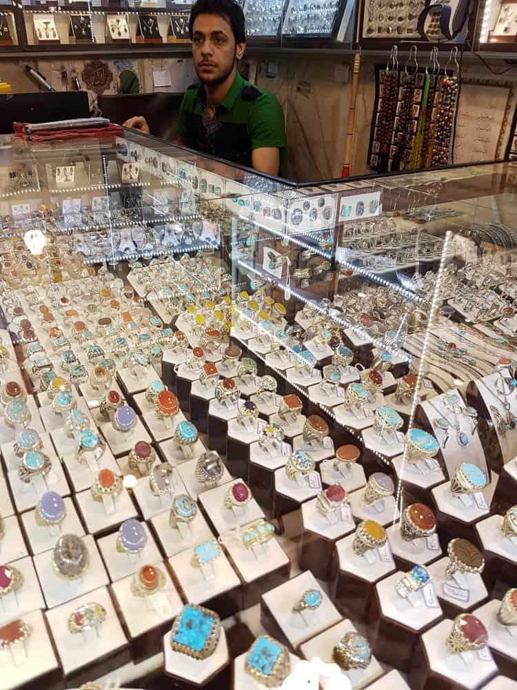 Jewellery shop, Reza Basaar, Mashhad