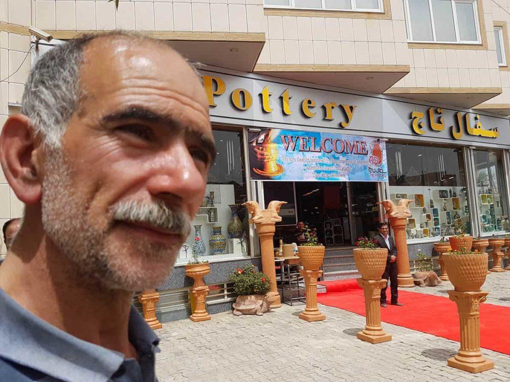 Nasser Khalili Fard, master potter