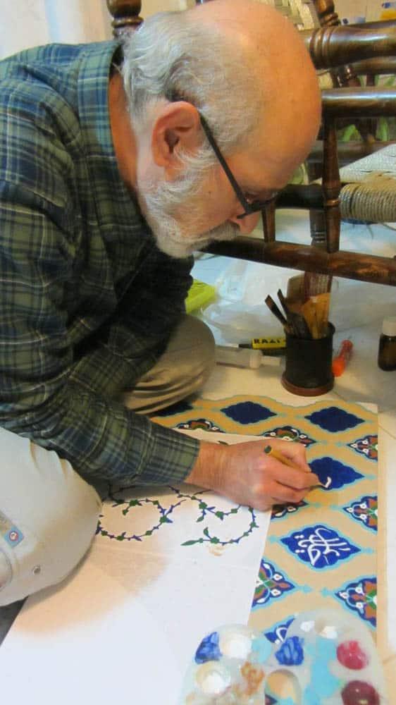 Seyyed Reza Safavi, Goharshad, preparation