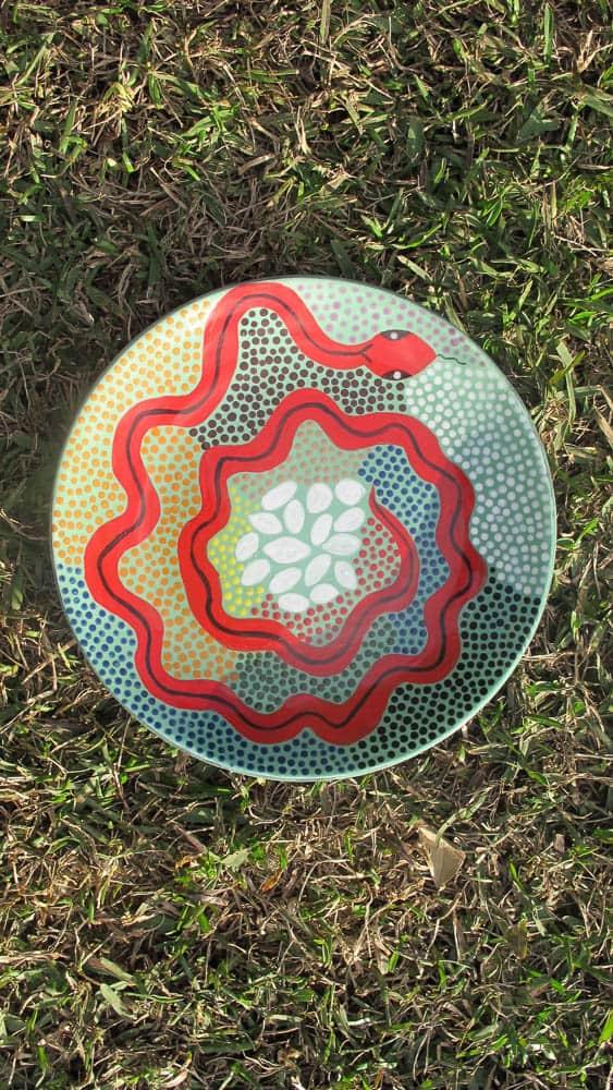 Lorna Morgan, Plate, 2016