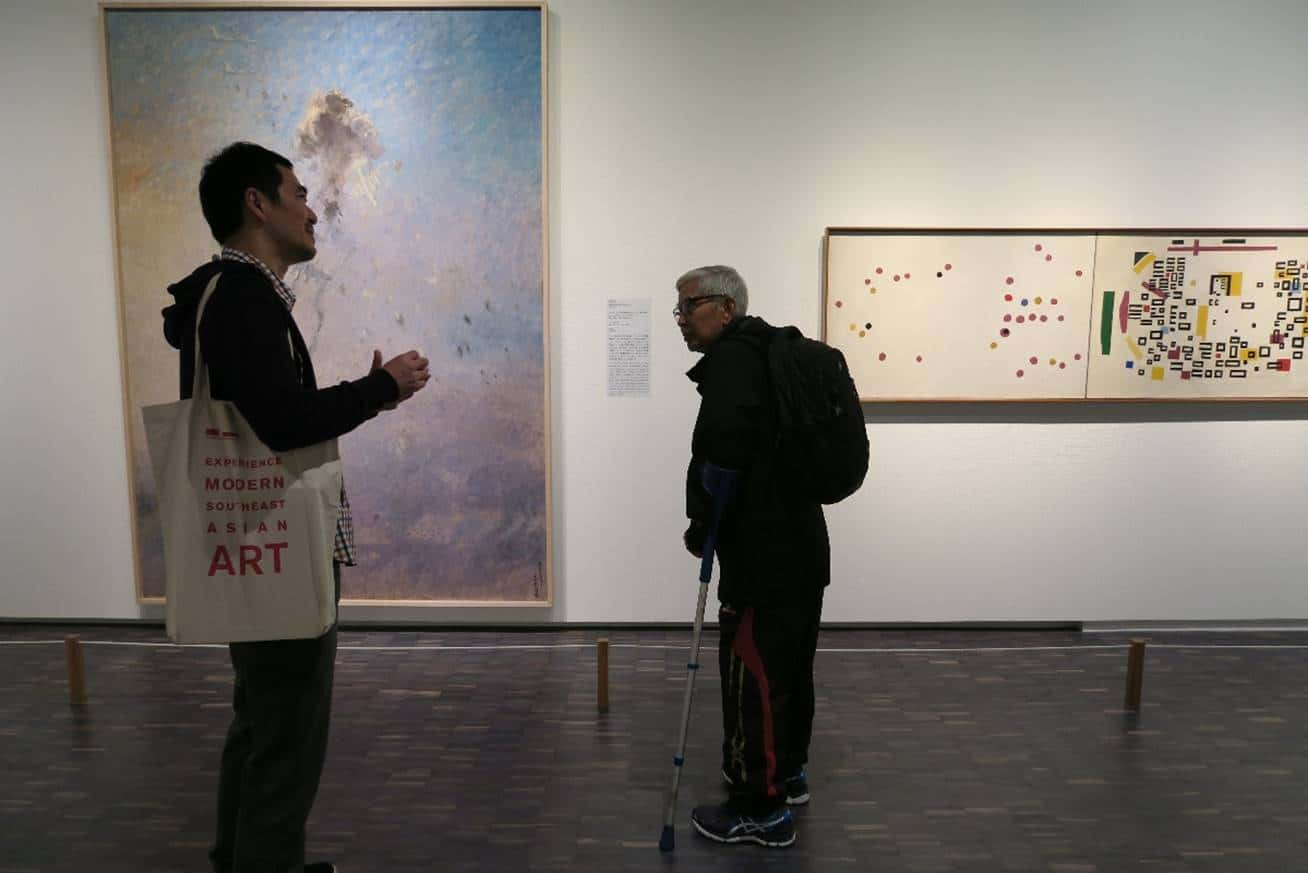 A tour of the permanent galleries at the Museum of Modern Art Tokyo by curator, Katsuo Suzuki.