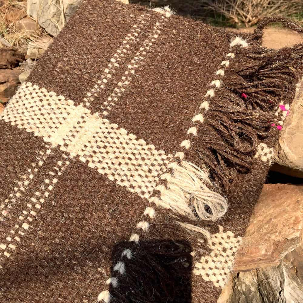 Neutral Colours of the rug, photo by Nathan Crotty