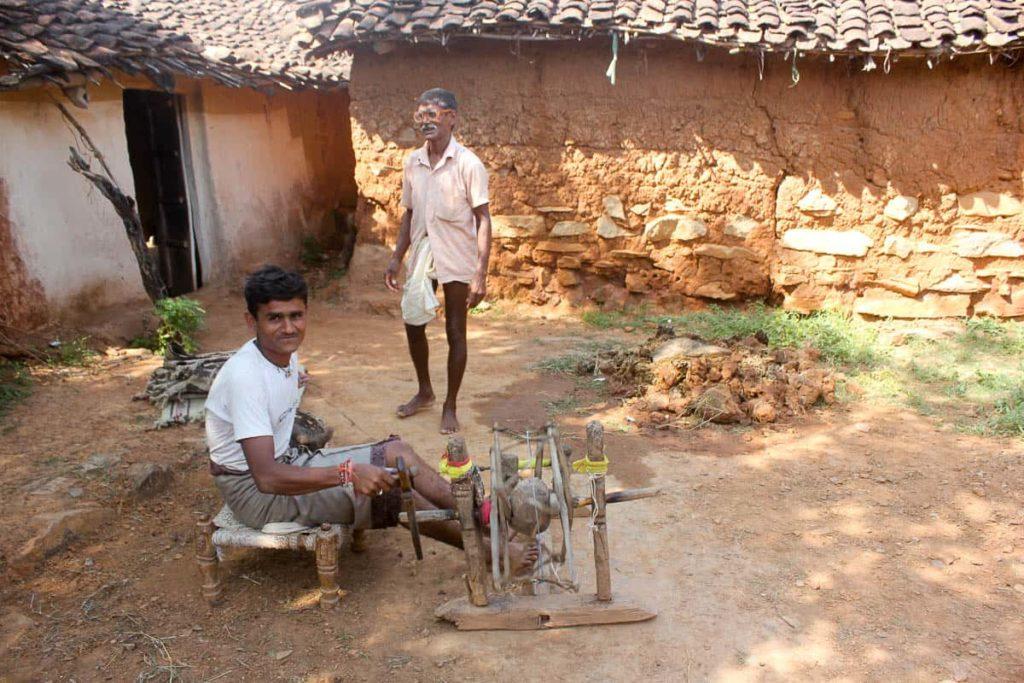 People of the village community, photo by Shatarupa Thakurta Roy