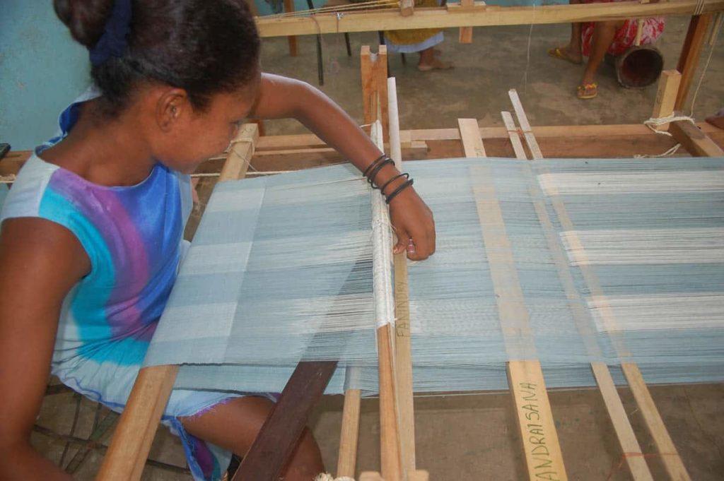 Natacha à Boanamary Madagascar, photo: Andrée Mathide Etheve