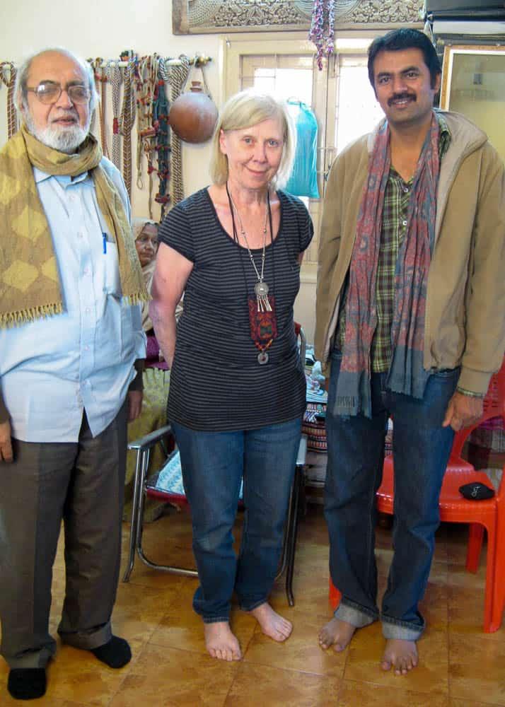 Mr. Wazir,Barbara & Salim, 2011