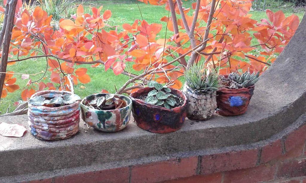 Ivor Cantrill pots