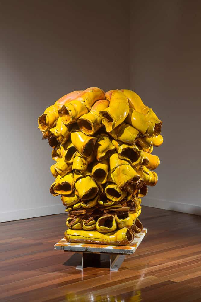 Torbjørn Kvasbø (Norway),  Tube sculpture ©Korea Ceramic Foundation
