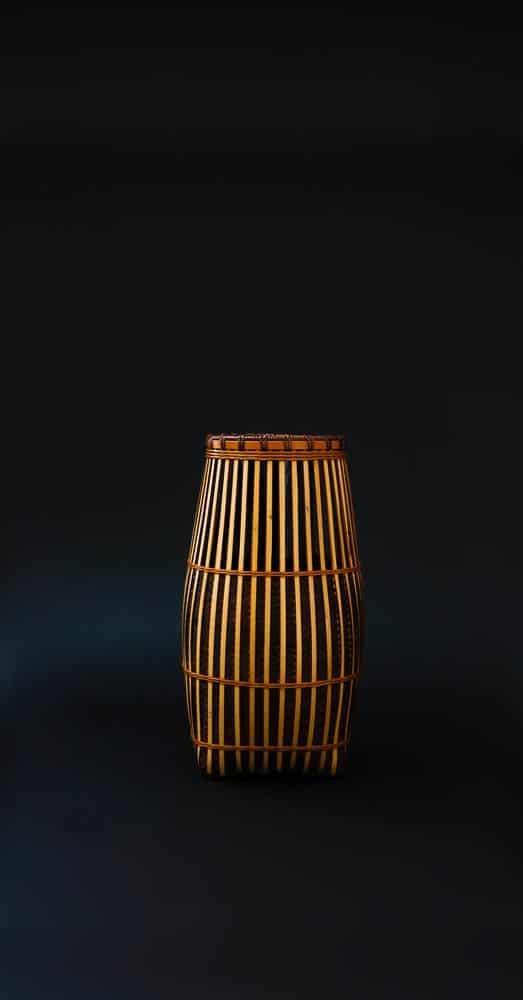 Hafu Matsumoto, Kushime pattern bamboo flower basket