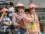 Adat rituals involving textile and fibres crafts remain a vivid part of Dayak cultural life.