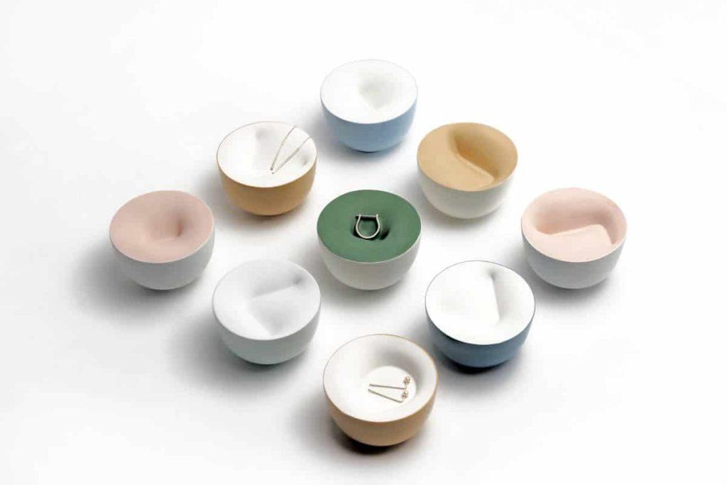 Kim,Sohyeon, Double-walled circle tray series