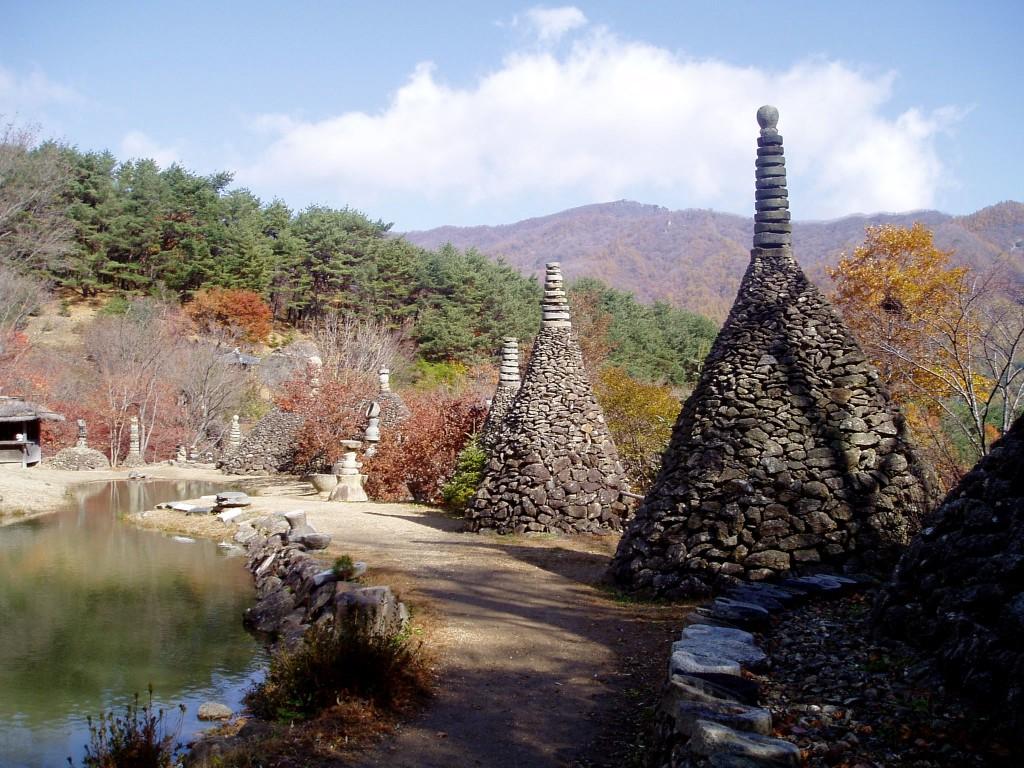 Stone garden, detail