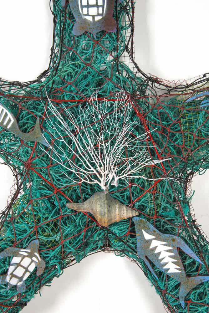 Steven Kepper, Starfish, 160 x 164 x 14cm, 2015