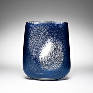 Andrew Baldwin, Mini void 5, blown glass H 14 x W 19 x D 4cm, made in South Australia, photo Michael Haines