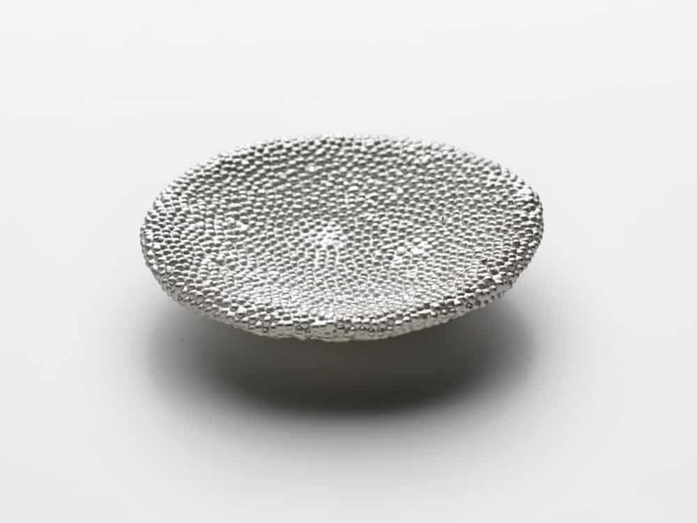 Julie Blyfield, Saltbed brooch, sterling silver,2015