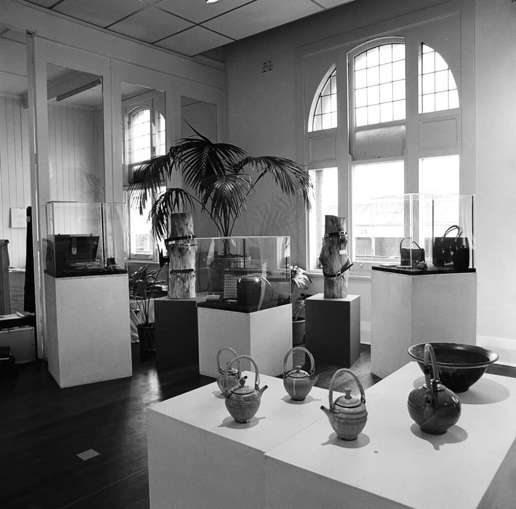 JamFactory Gallery, 1976, photo by Grant Hancock
