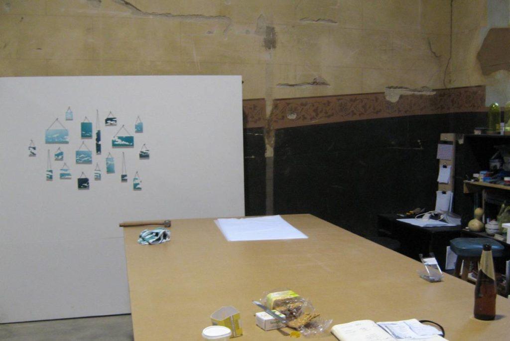 Christine Cholewa's studio space