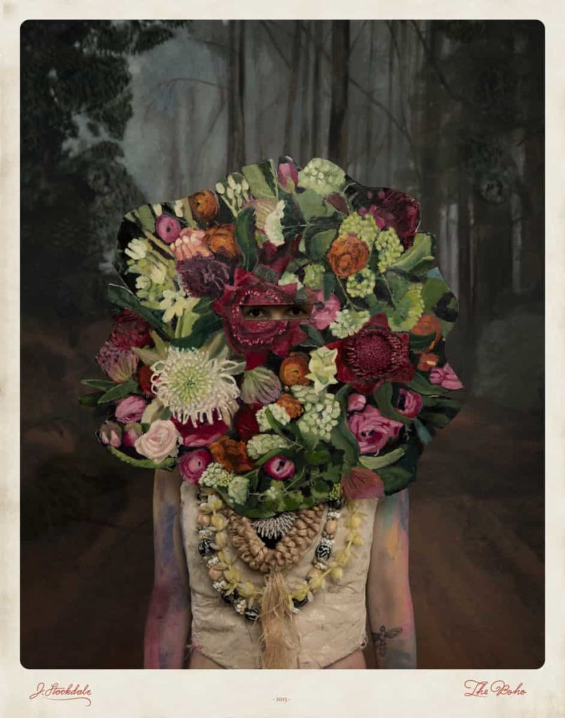 Jacqui Stockdale, Where I Stood, 2015, from the series The Boho, type C print, 110 x 140cm. Courtesy the artist and THIS IS NO FANTASY + Dianne Tanzer Gallery, Melbourne