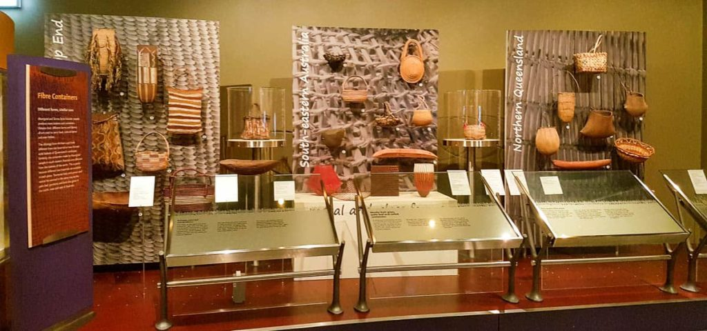 Display of First Australians at the National Museum of Australia 1 July 2016