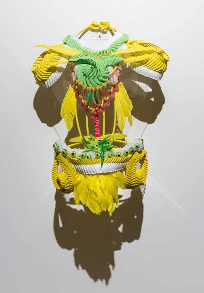 Grace Lillian Lee, Body Sculpture, 2016, Cairns Regional Gallery, photo: Michael Marzik