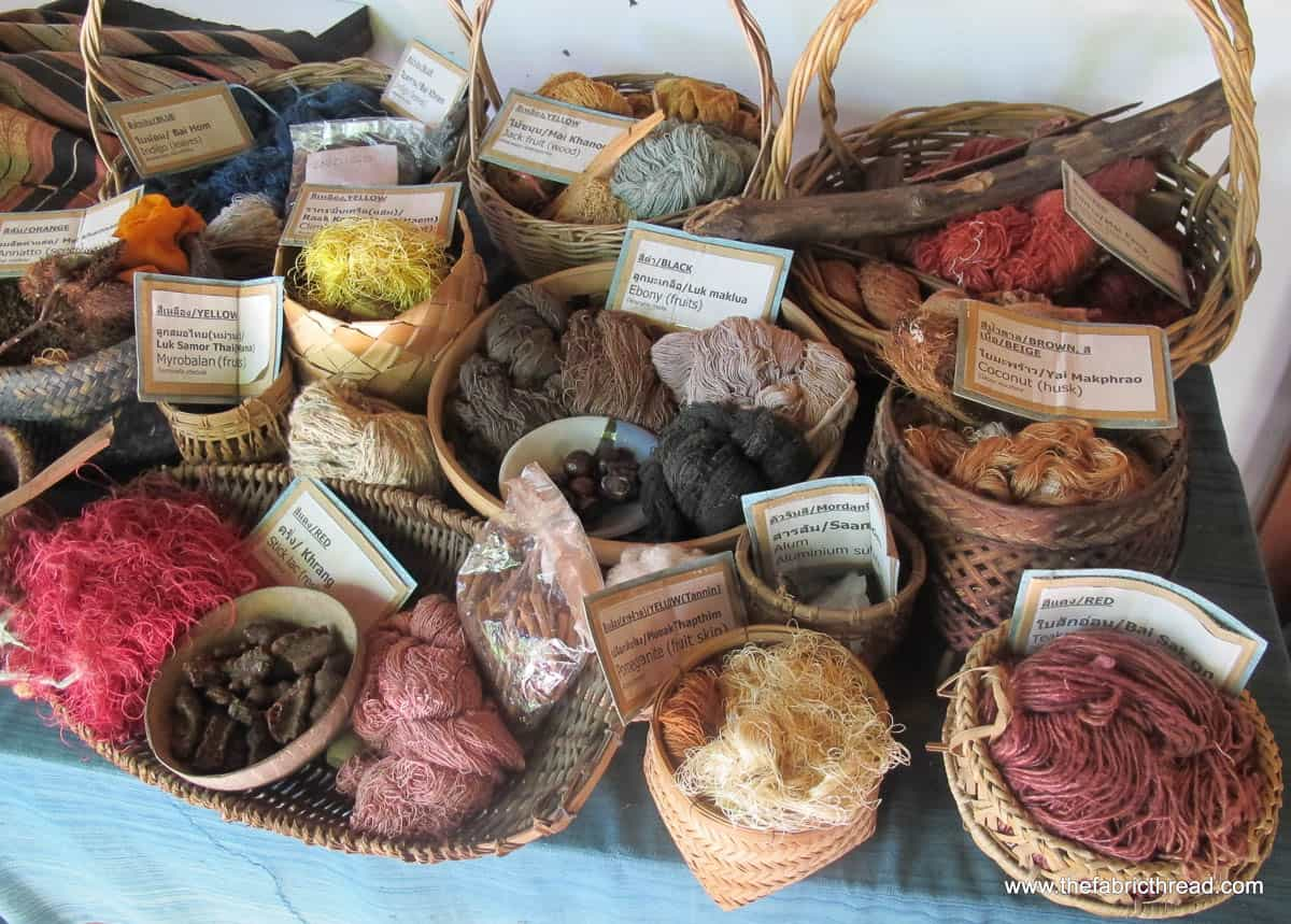 Studio Naenna, natural dyes