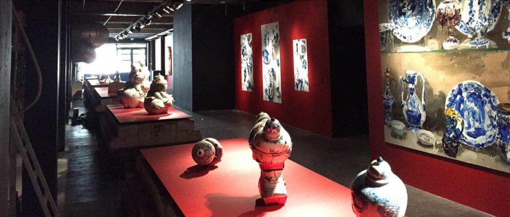 """""""My Blue China"""" Exhibition"""