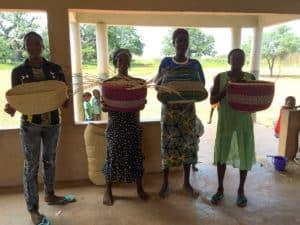 Evellyun Baba, Adompoka Agetha, Aditoio Alima and Rose Agamikere