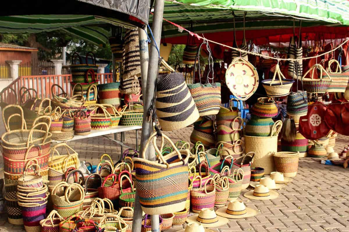 Paying The School Fees Bolga Baskets In Ghana Garland