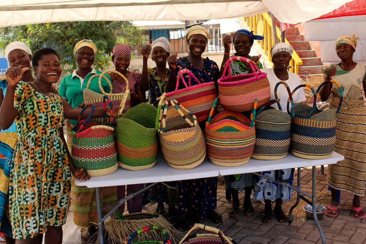 Paying the school fees: Bolga baskets in Ghana | Garland Magazine