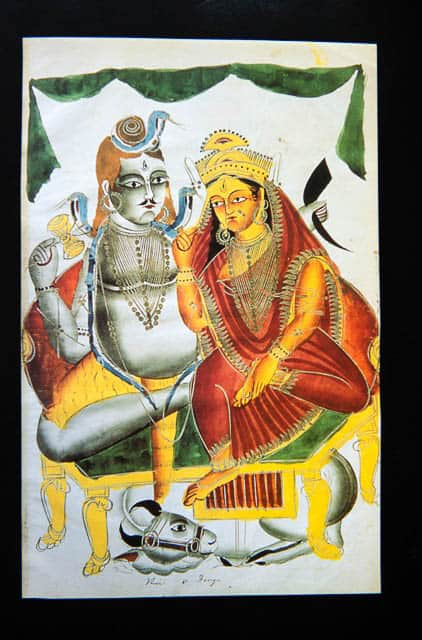 West Bengal Kalighat painting