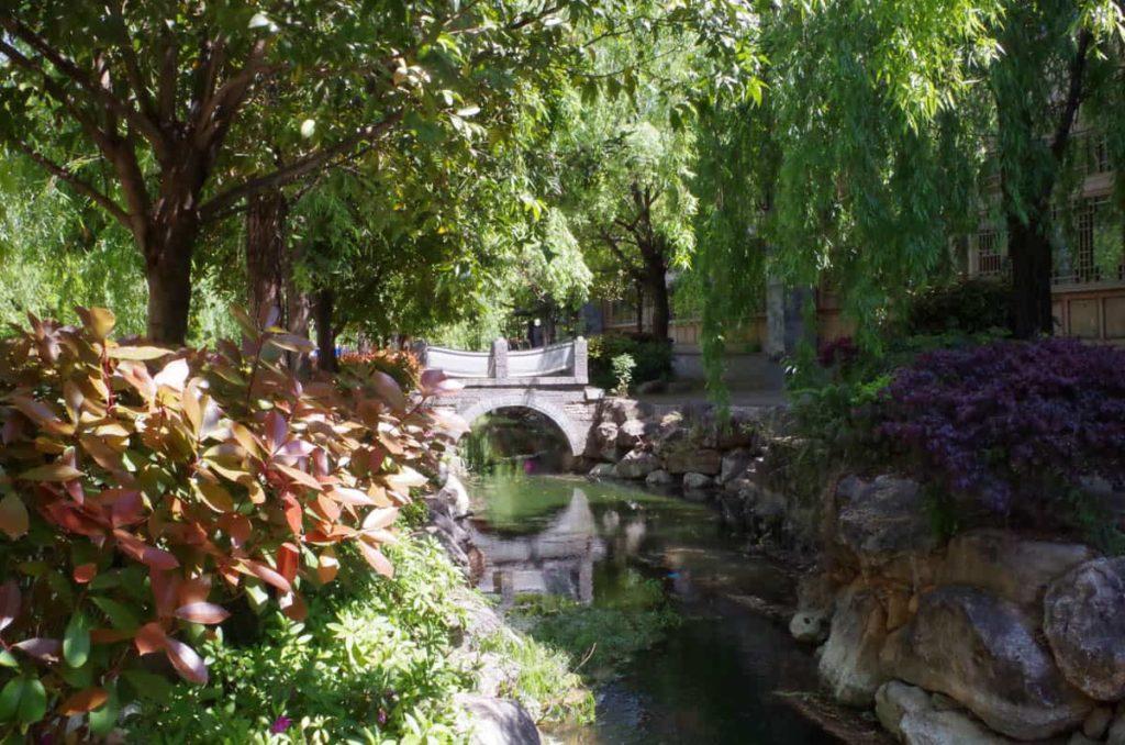 A Naxi village