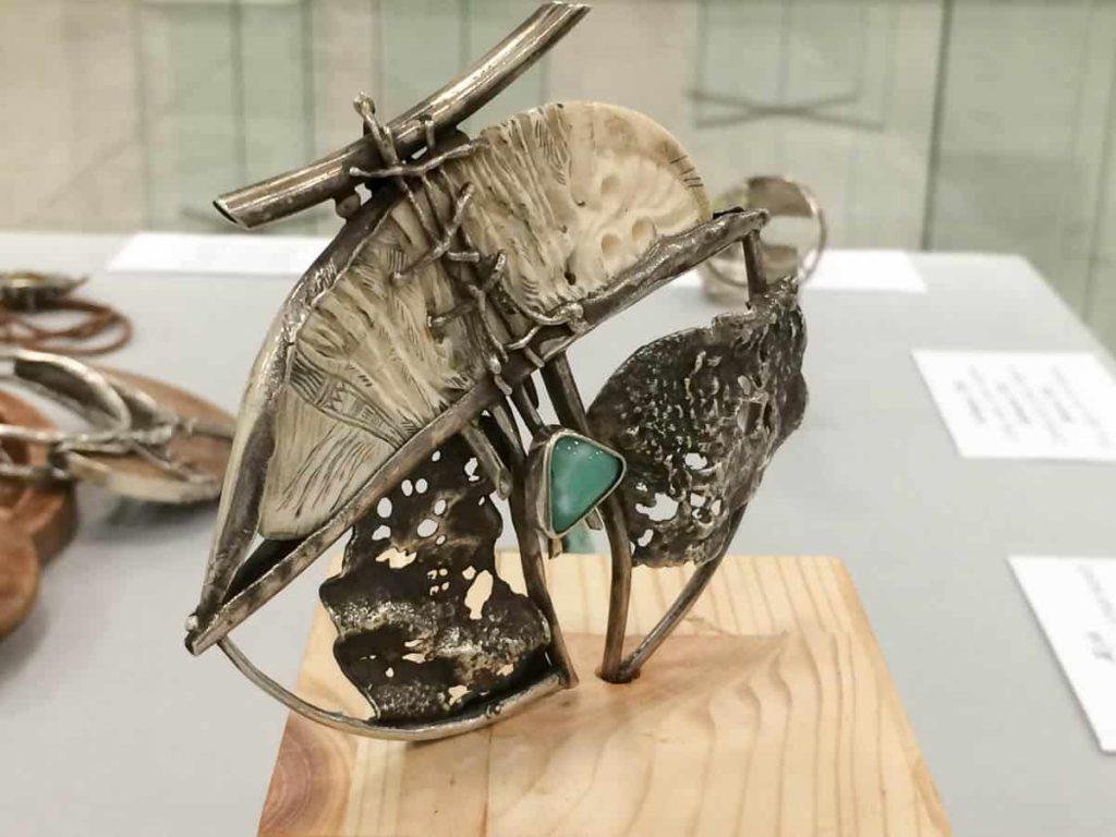 Amageldy Mukhazanov jewellery piece