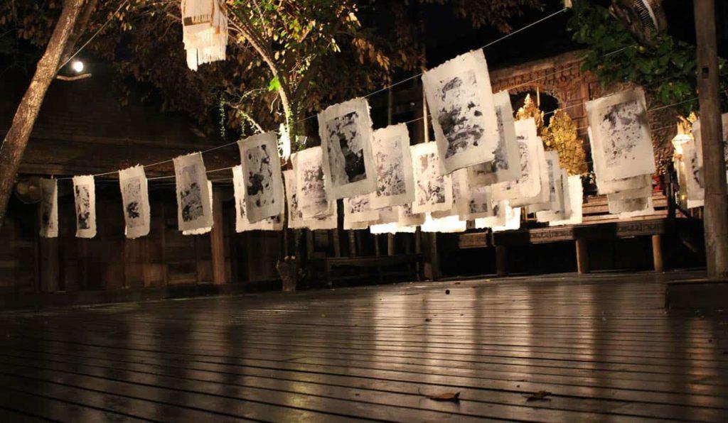 Rushdi Anwar, Hanging Issues, 2010, Ne Na Contemporary Art Space/Baan Monfai, Chiang Mai, Thailand, installation view