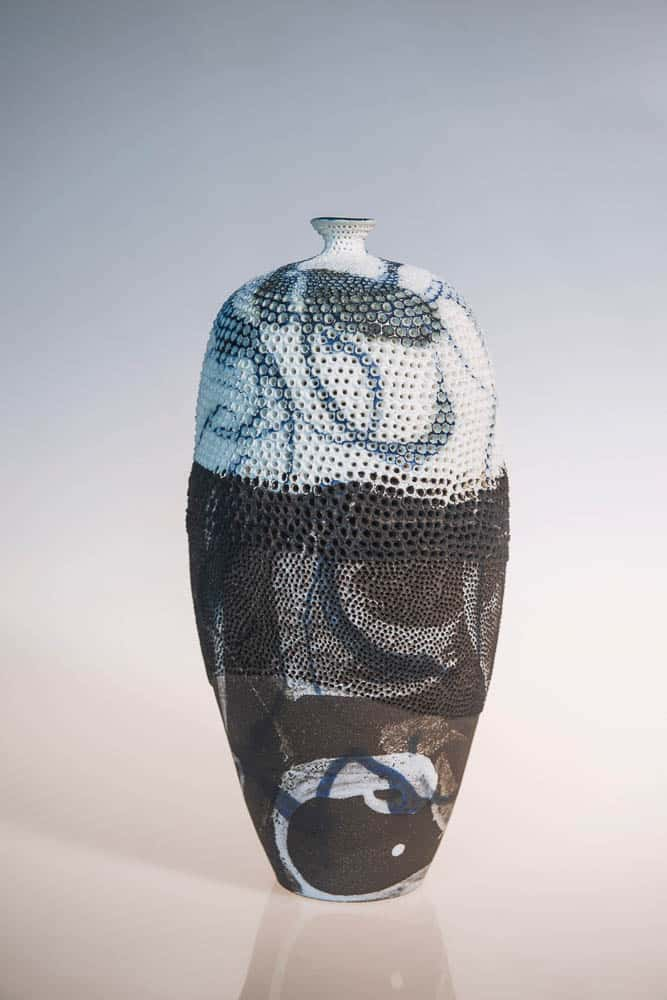 "Megan Puls, ""Inlet"" vase"