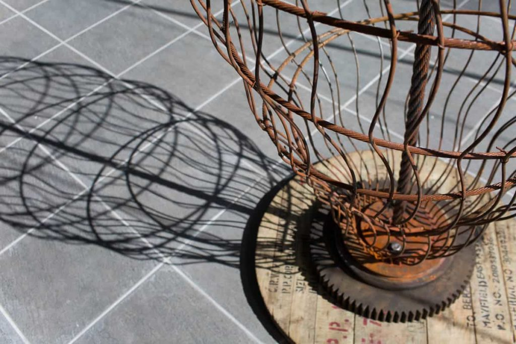 Birth of a Rope, artwork by Andrew Morgan, John Runciman and Gavin Armstrong, 