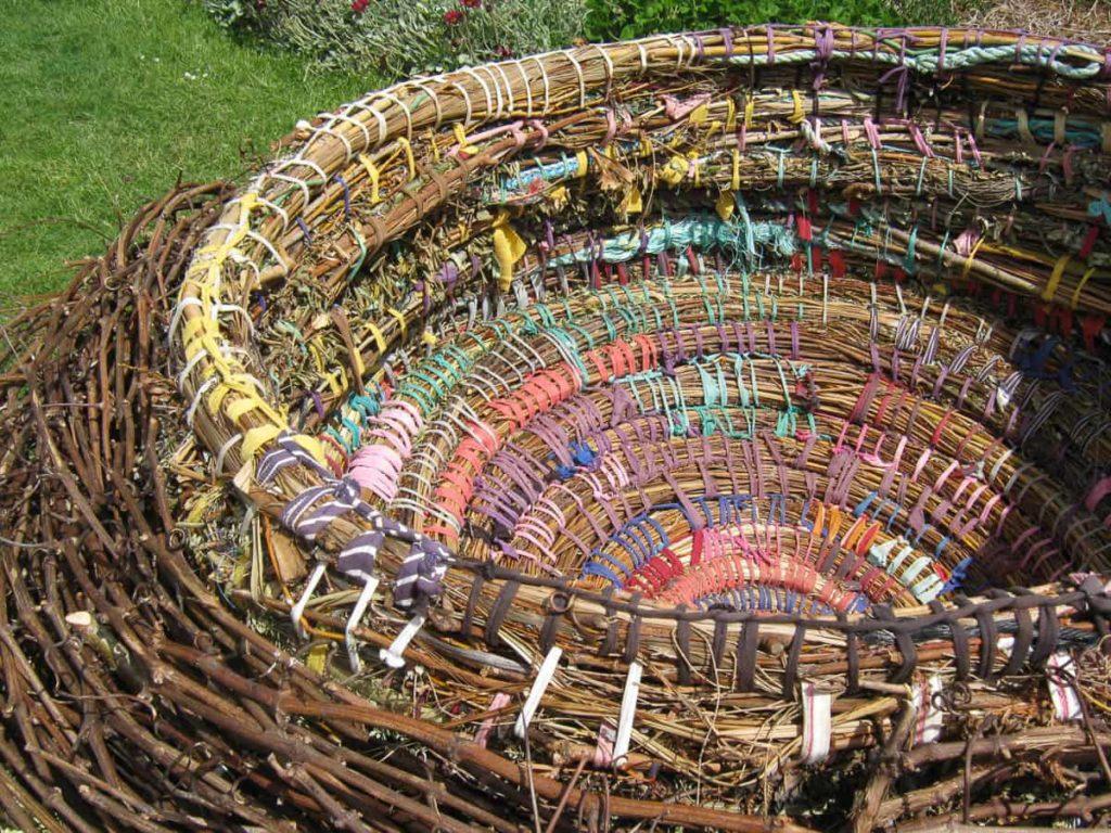 Gwen Egg nest with Bruny Island school for Bruny Island Bird Festival, 2014