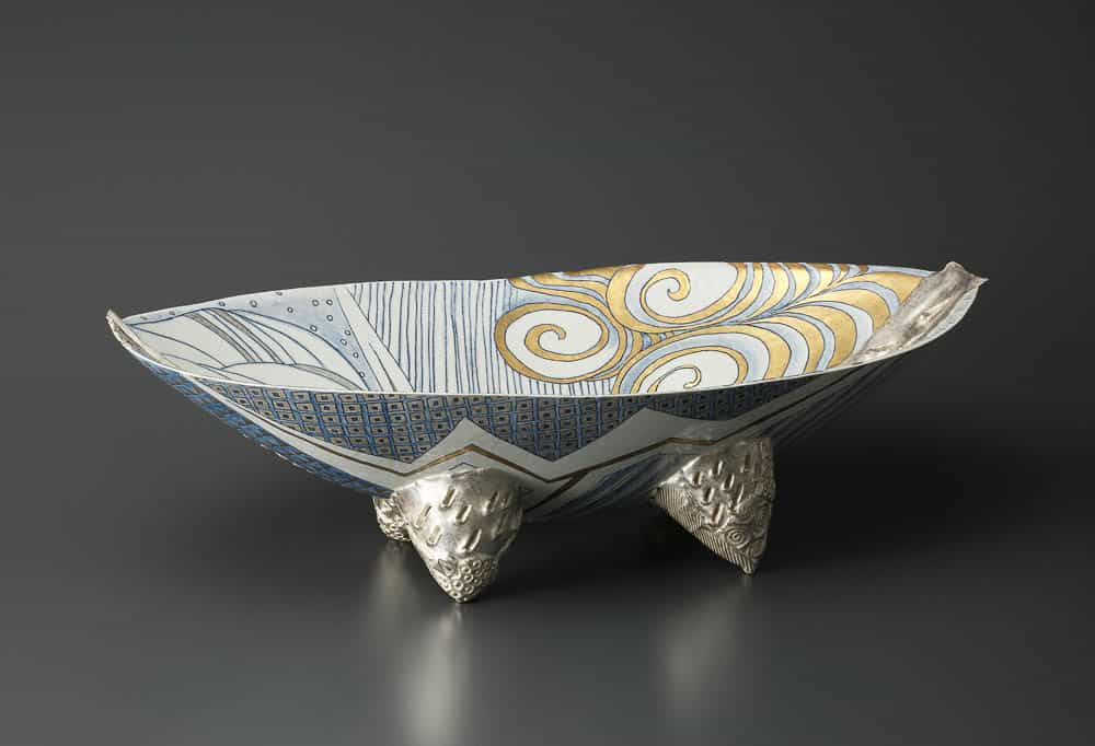 """Katsuko Nakashima, """"Hare"""" no utsuwa, porcelain"""