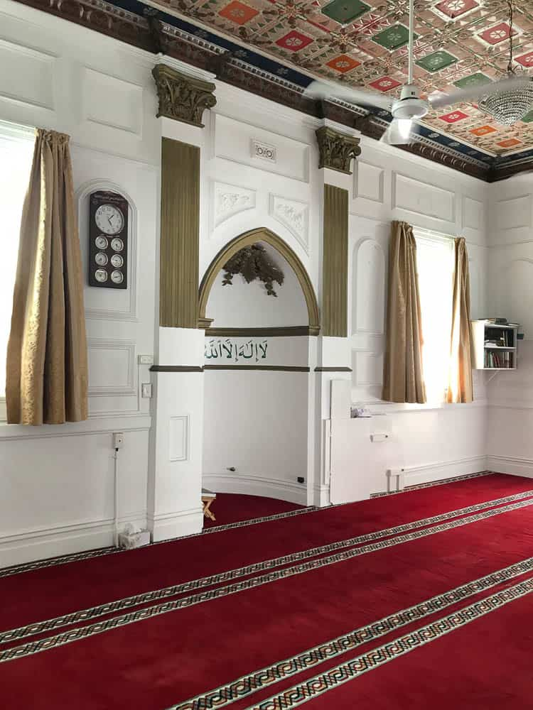 (2018) The main prayer room interior details