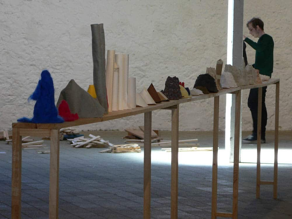 Clare Peake, Installation view, The Indeterminacy Principle, 2007. Mixed media, dimensions variable. © Courtesy the artist.