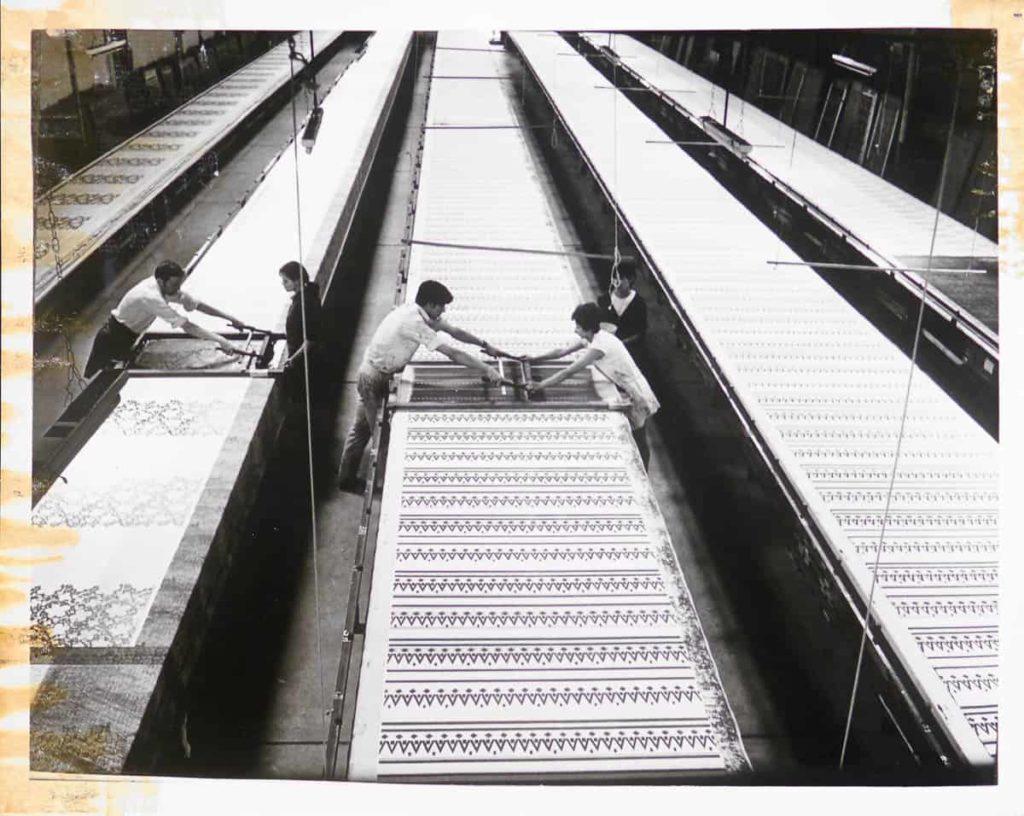 Artisanal print Factory Alejandro Stuven, Santiago, Chile, photography courtesy of Stuven family