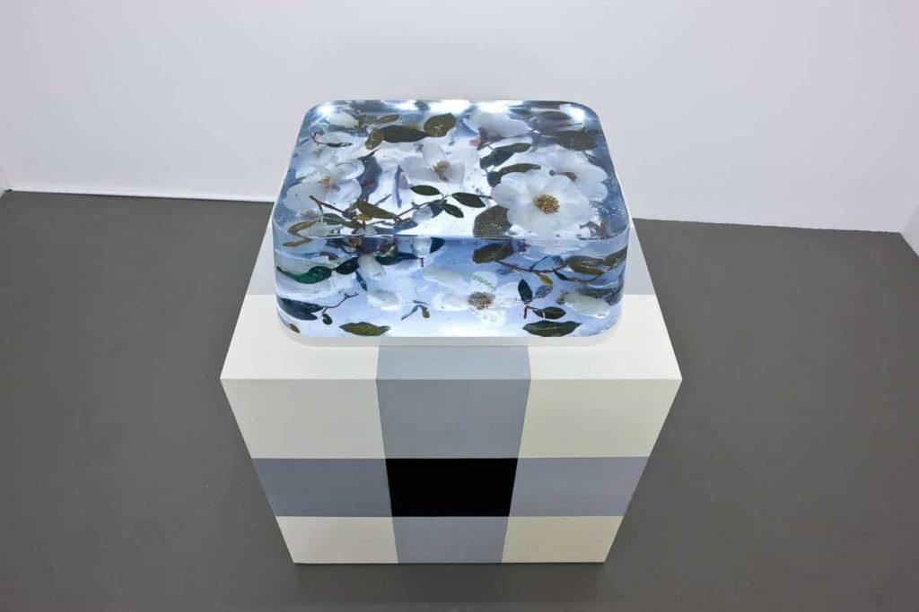 Mary Lou Pavlovic, Bali on a Blue Day, 2011, 75 x 50 x 90cm, Mixed Media